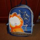 рюкзак школьный с котом гарфельдом