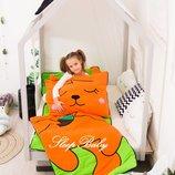 Белочка - детский слипик, спальный мешок, переносная постель, гнездо