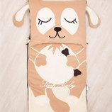 Собачка - детский слипик, спальный мешок, спальник