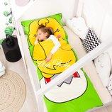Цыпленок -бесплатная доставка - детский спальник-слипик, спальный мешок.