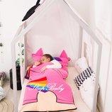 Пони -детский спальник-слипик, спальный мешок