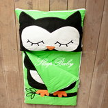 Бесплатная доставка - Совушка - детский спальный мешок, слипик
