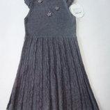 Choupette.Платье вязаное для школьницы.