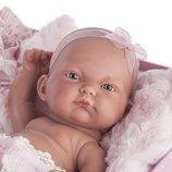 Реборн пупс Кукла младенец Карла в чемодане в сундуке 26 см, Antonio Juan 4068, Антонио Хуан