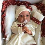 Кукла пупс реборн младенец Молли 34 см озвученная, Antonio Juan 7034, Антонио Хуан