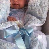 Реборн пупс Кукла-Младенец Эдуардо в голубом 42см, Antonio Juan 5005, Антонио Хуан
