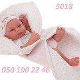 Пупс реборн Кукла-Младенец Nica Manta в розовом 42см, Antonio Juan 5018, Антонио Хуан