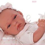 Кукла пупс реборн младенец Baby Tonet Saco в розовом 33 см, Antonio Juan 6020, Антонио Хуан