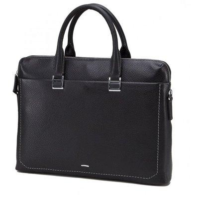 Мужская кожаная сумка Бесплатная доставка портфель для ноутбука NM17-9069-5A натуральная кожа