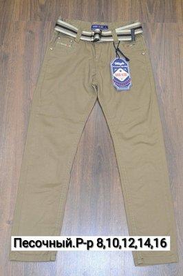Коттоновые брюки классичого покроя на мальчиков. Р-Ры 8-16. Новые