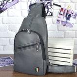 Мужской рюкзак Max 28-27 серый, черный