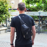 Мужской рюкзак Max 26-25 черный-серый