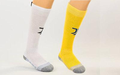 Гетры футбольные детские с символикой клуба Juventus 1816 27-34 размер, 2 цвета
