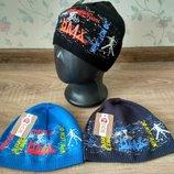 Яркие шапки для мальчиков 48-50 размер
