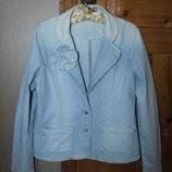 Куртка джинсовая фирмы Denim Co в отличном состоянии размер 46-48 L
