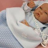 Испанский пупс реборн Кукла младенец Saco Lana 42 см, Antonio Juan 5015, Антонио Хуан