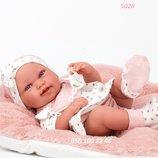 Испанский пупсик реборн Кукла младенец Pipa 42 см, Antonio Juan 5028, Антонио Хуан