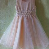 Бальное Платье на 4-5 лет, рост 110 см.