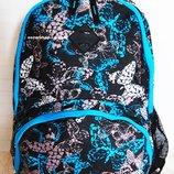 Женский Рюкзак с бабочками. Яркая сумка портфель для девушек. Отличное качество.