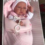 Испанский пупс реборн Кукла младенец Saco Lana 42 см, Antonio Juan 5016, Антонио Хуан