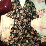 Женское бренд-md платье с поясом 48 размер в отличном состоянии.