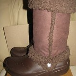 Сапожки ботінки зимові Crocs Оригінал р.W7 стелька 24 см
