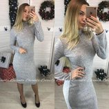 Платье-Гольф из ангоры Crystall Норма