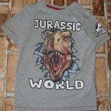 футболка Динозавр 7-8лет Джорж большой выбор одежды 1-16лет