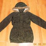 Демисезонная куртка George для девочки 8-9 лет, 128-134 см