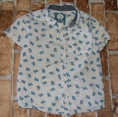 рубашка мальчику хб лето 5 - 6 лет Ребел большой выбор одежды 1-16лет
