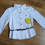 Рубашка школьная Leader class plus р 140-146-152