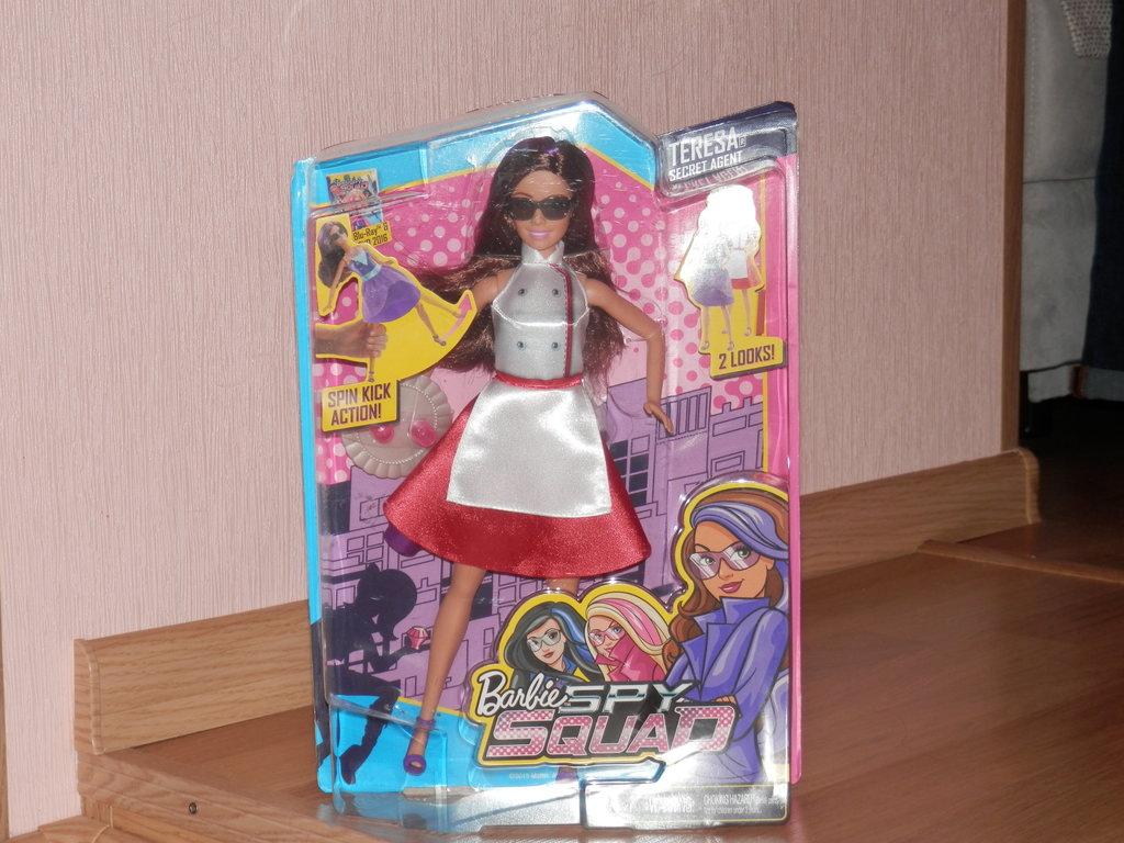 Барби секретный агент меня
