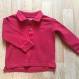 Футболка-Поло, реглан Zara для мальчика, размер 18-24м, 86-92
