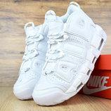 Мужские кроссовки Nike Uptempo white