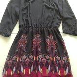 Роскошное платье Only Италия шифон Новая коллекция Будьте стильными c оригинальным принтом