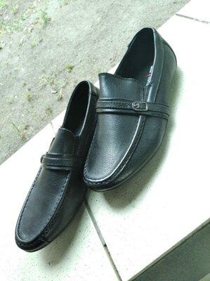 Туфли школьные, школьные мокасины черные 22 см