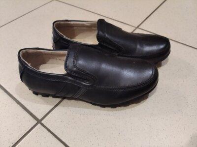Школьные туфли для мальчика, школьные мокасины Томм 33.35 размер