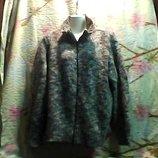 Жен.брендma-Fino кофта вязаная на молнии,очень тёплая б-у .но в хорошем состоянии.