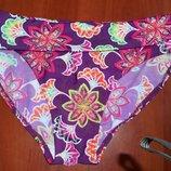 яркие плавки фиолетовые с принтом 12 размер