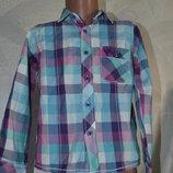 рубашка мальчику TU на 5 лет рост 110 см Англия