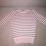 Реглан кофточка свитер F&F Италия мегамодная полоска Новая коллекция Будьте стильными