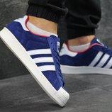 Кроссовки мужские Adidas La marque aux 3 bandes blue