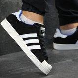 Кроссовки мужские Adidas La marque aux 3 bandes black/white
