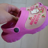 Кроксы Crocs Hello Kitty
