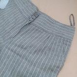 Next woman 10R штани штаны брюки лен льняные