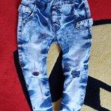 джинсы рваные варенки