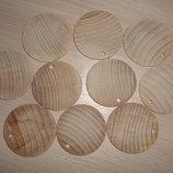 Заготовки круглые для украшений и декора 5 см