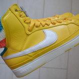 Новые кроссовки Nie Air Force Mid Yellow