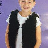 Детская жилетка Fashion favorit на девочку 2-4, 4-6, 6-8, 8-10 лет