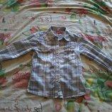 Рубашка на девочку фирма Blue Seven Kids на возраст 4 года размер 110